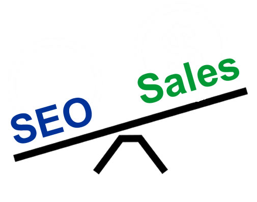 balancing sales and seo